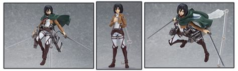 Figma Mikasa Ackerman 9 attack on titan figures to sink your titanic teeth into from japan