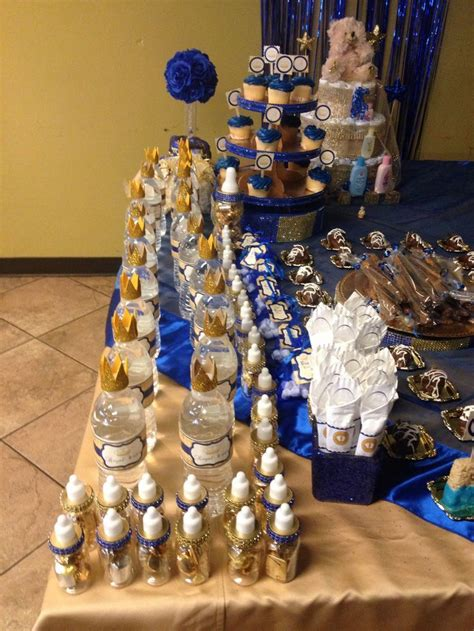 86 best images about baby prince dessert table on