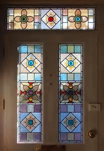 new style stained glass door panels made from