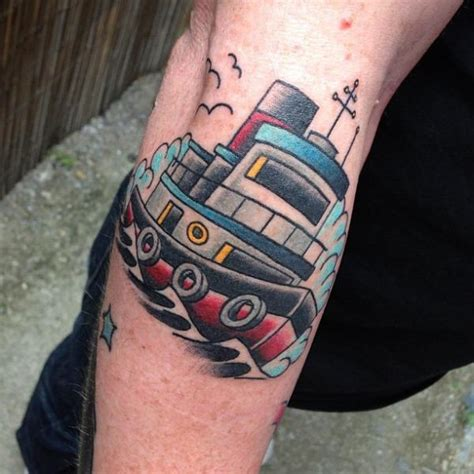 arm  school schiff tattoo von devils ink tattoo