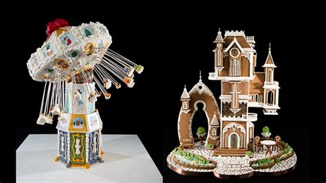 Gingerbread House Competition by Winners Announced In Grove Park Inn S National Gingerbread