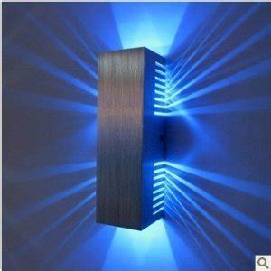 rutic blue led lights decors ideas on the stairs and the wall picture as well wooden floor and ac85v 265v 2 1w stage light modern rectangular led wall lights living room bedroom hallway