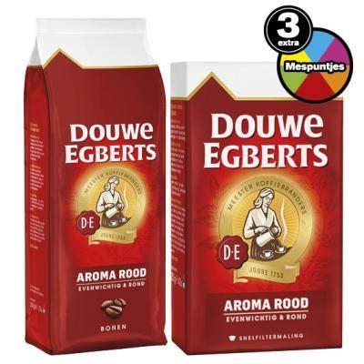 douwe egberts koffie hoogvliet douwe egberts aroma rood koffie snelfiltermaling of bonen