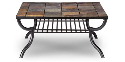 slate tile coffee table slate coffee table
