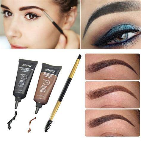 henna tattoo gel 2pcs brand makeup eyebrow enhancer tint my eyebrows gel