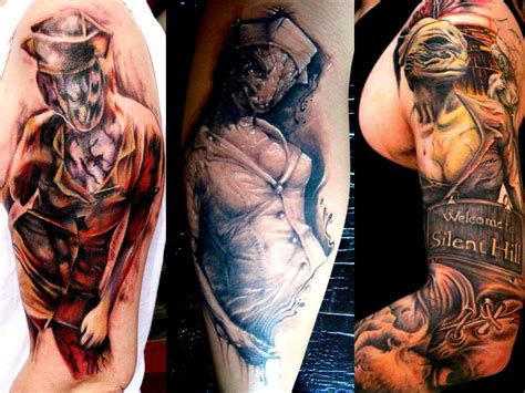 silent hill tattoo some awesome silent hill tattoos valtielsorrow