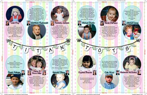 contoh layout yearbook yearbook titan tots
