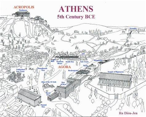Veme Top 17 best images about agora d athenes on
