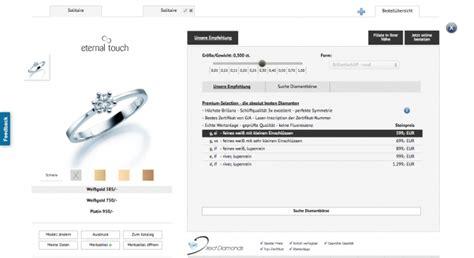 Verlobungsring Konfigurieren by 123gold Verlobungsring Konfigurator Testbericht