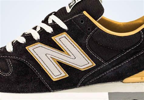 New Balance 996 Black Original new balance 996 revlite black yellow sneakernews