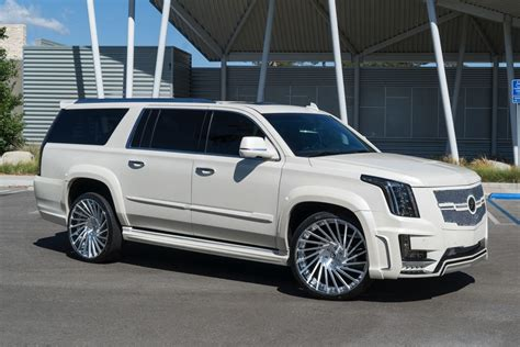 cadillac escalade 2017 custom another tricked out caddy escalade by forgiato