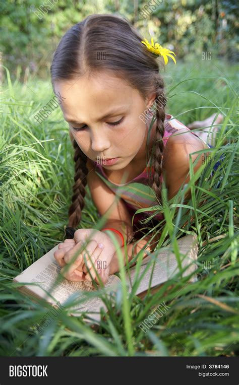 Preteen Photo Gallery | preteen girl with book stock photo stock images bigstock