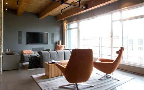 living room design loft interior exterior doors