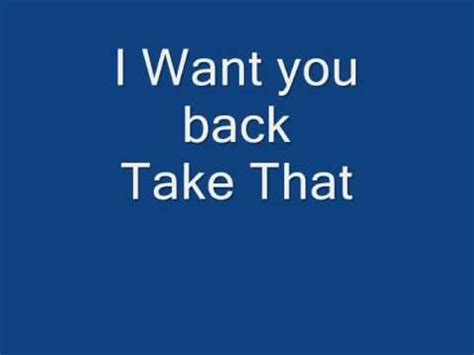 i want to see the shingled back of short hairstyles take that want you back press more info for lyrics youtube