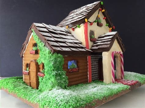 two story gingerbread house template howtocookthat cakes dessert chocolate two storey