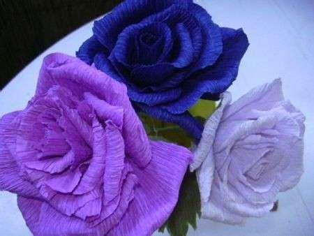 fiori cartapesta come fare i fiori di carta la tecnica di base foto