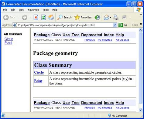 javadoc tutorial eclipse ide javadoc configuration tutorial