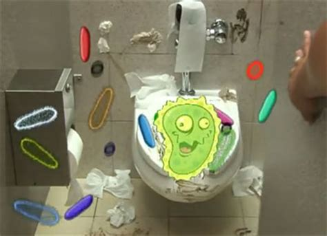 bathroom germs potty pax keeps strange fecal matter with you all day