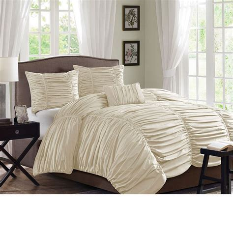 cream ruched comforter 17 best images about duvets on pinterest duvet covers