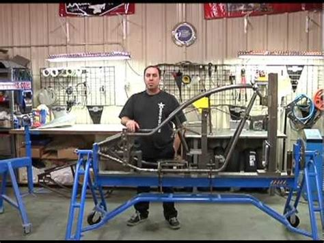 how to build an a frame for a porch swing texas bike works shows you how they build a frame youtube