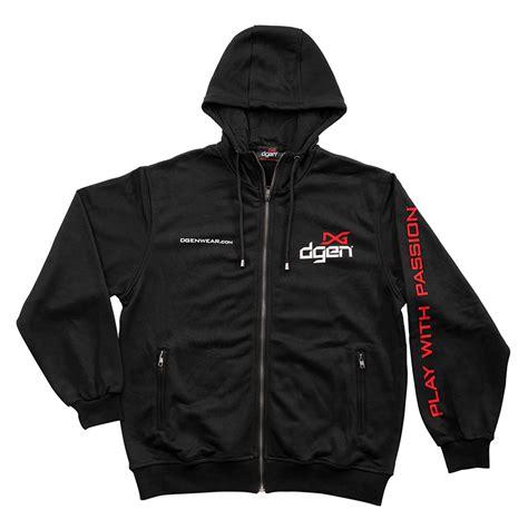 Hoodie Zipper Black dgenwear black hoodie w zipper pockets dgen