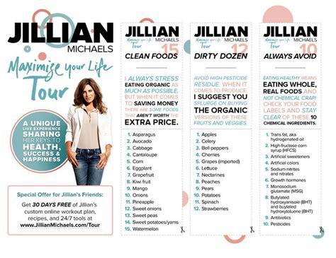 Jillian Detox Plan by 25 Best Ideas About Jillian On