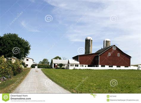 amish farm and house amish farm and house stock photography image 6273442