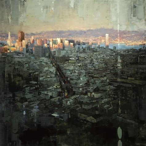 paint nite san francisco gritty new cityscapes by mann colossal