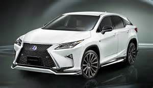 lexus usa announces pricing for all new 2016 rx 350 rx