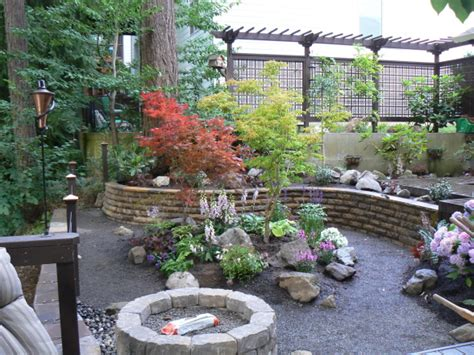 garden ideas sloped backyards landscaping a sloped backyard ideas outdoor furniture