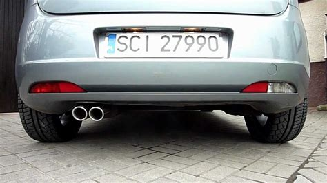 exhaust for fiat punto fiat grande punto and ulter sport exhaust