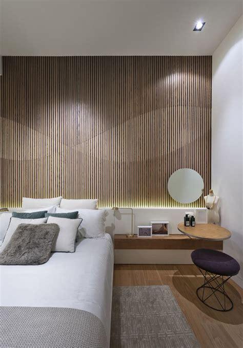 modern  creative bedroom design featuring wooden