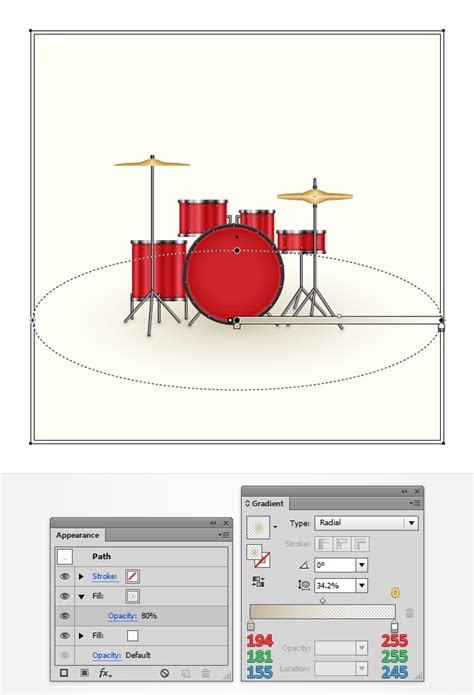 drum kit tutorial step 3
