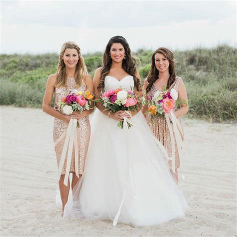 Top Trending Color Themes for Bridesmaid Dresses 2016 and 2017