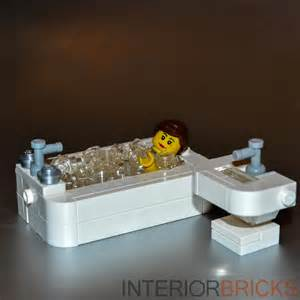 lego furniture custom bathroom sink set w parts