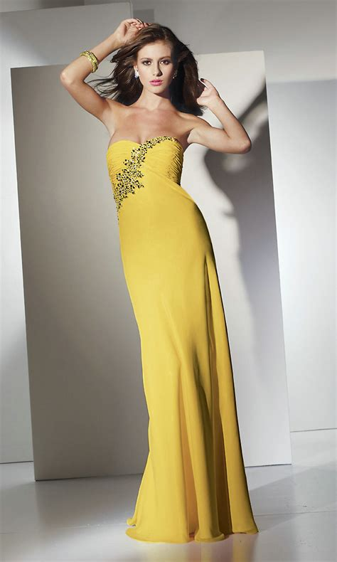 guest wedding dresses strapless yellow wedding guest dresscherry cherry