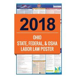printable h s law poster 2018 ohio labor law poster all in one laborlawcenter com
