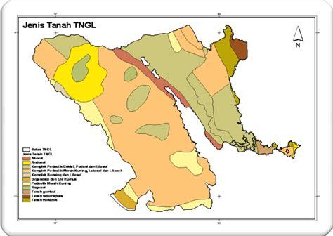 Atlas Tematik Provinsi Papua peta kota jenis tanah tn gunung leuser