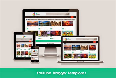 youtube responsive blogger templates kaizentemplate