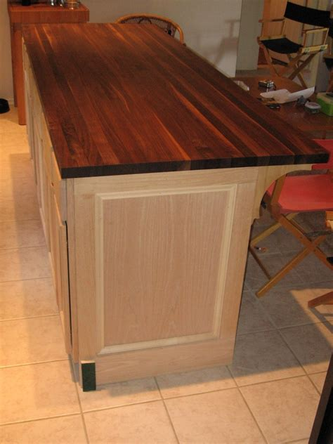 Diy Kitchen Furniture Diy Kitchen Island From Cabinets Images