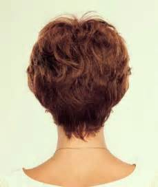 hair styles with front and stacked back short hairstyles back view over 50