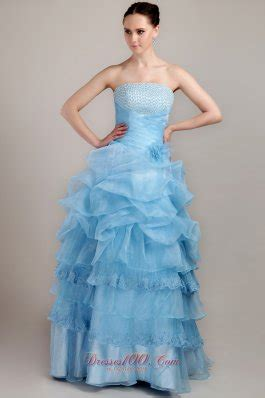 baby blue floor l 2013 baby blue a line strapless floor length taffeta and