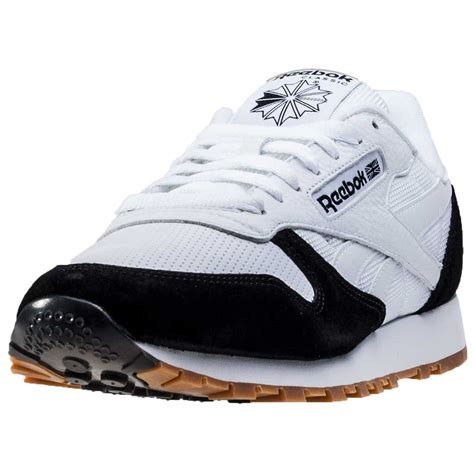 reebok new shoes reebok classic split mens trainers white black new