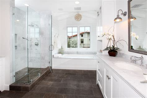 lido isle traditional bathroom orange county by