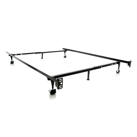 Bed Frame Adjustable Bed Frame Adjustable Metal Bed Frame 3150bsg I The Home Depot