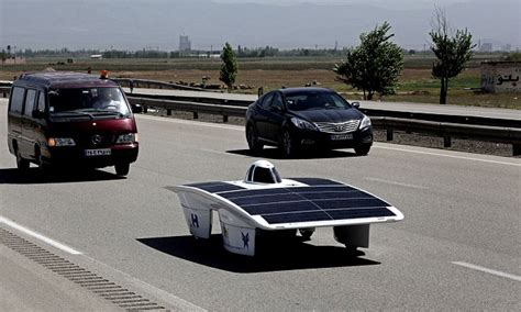 Solar Powered Cruise Cars Use The Sun On The Golf Course by Nanowire Technology May Allow New Types Of Hydrogen Fuel