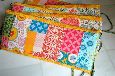 How To Make A Crib Quilt by Patchwork Crib Bumper A Tutorial Crafterhours