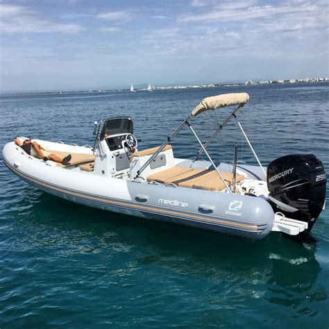 inflatable boats zodiac medline 740 zodiac nautic inflatable and rigid