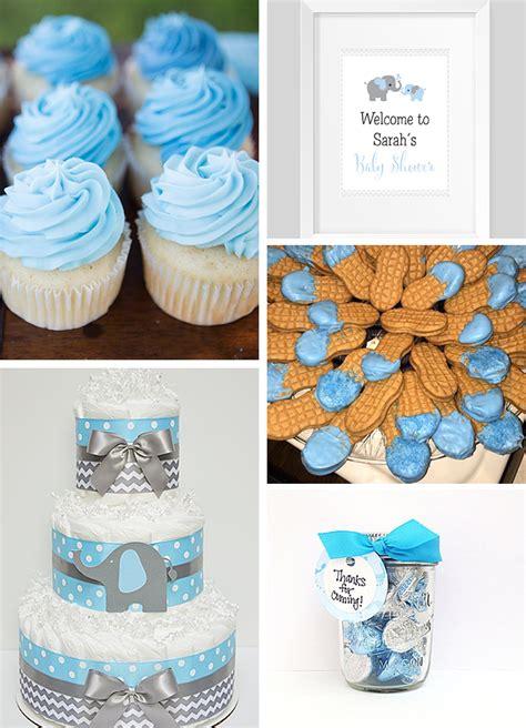 elephant baby shower favors ideas inspirations blue and gray elephant baby shower sweet