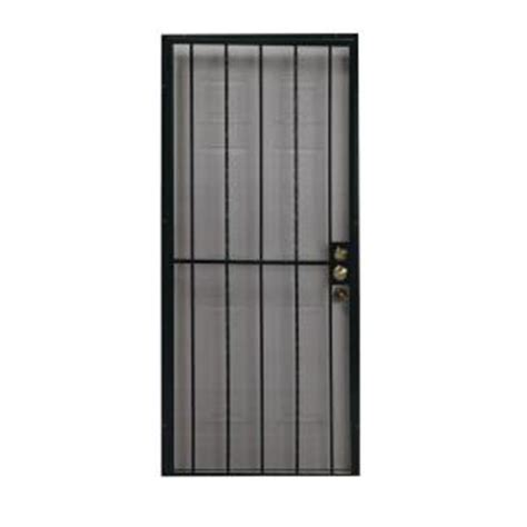 security doors security door bar home depot